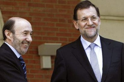 Rubalcaba y Rajoy viajan a Sevilla para apoyar a Griñán y Arenas