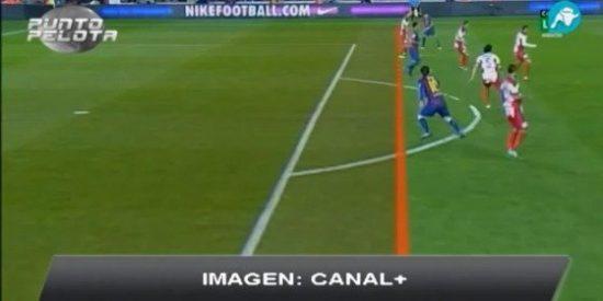 Tomás Roncero y Frederic Hermel dan por falsas unas imágenes de Canal+ que demuestran el gol legal de Messi: