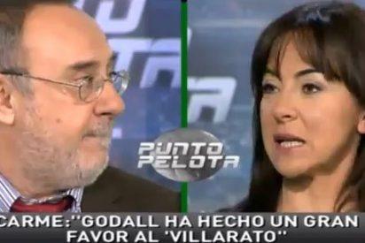 """Carme Barceló aprovecha la visita de Alfredo Relaño a 'Punto Pelota' para hacerle una recomendación: """"Espero que regaléis una suscripción del AS a Alfons Godall"""""""