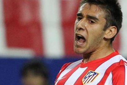 Salvio ejerce de salvador para el Atlético contra el Hannover 96