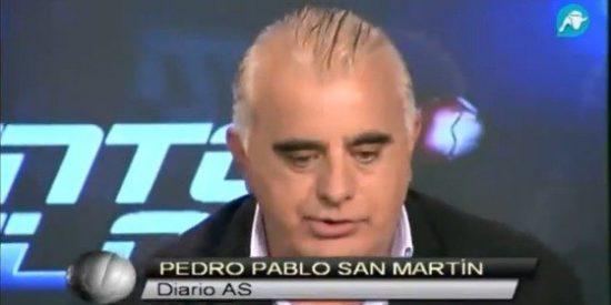 """Pedro Pablo San Martín (AS) estalla contra el Real Madrid: """"¿Cómo se puede llegar a que Alfredo Di Stéfano diga en un periódico que 'nos han robado'?"""""""