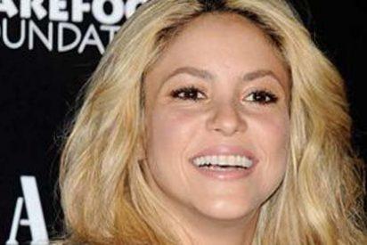 Shakira 'la lía' en la ciudad condal después de una noche de fiesta
