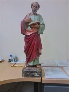 Detienen al ladrón de una talla de madera de una iglesia de Verín