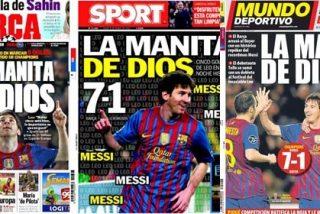 """Messi pone en evidencia la falta de originalidad de la prensa deportiva: """"La mano de Dios"""""""