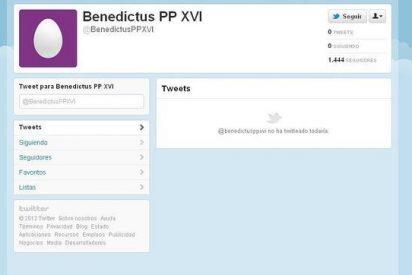 El Papa logra 1.500 seguidores en Twitter en un solo día, sin publicar un solo