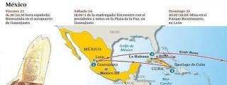 México recibirá a Benedicto XVI con mariachis y un ballet folclórico