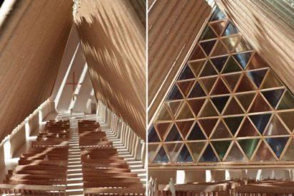 Nueva Zelanda levantará una catedral de cartón junto a los restos del seísmo