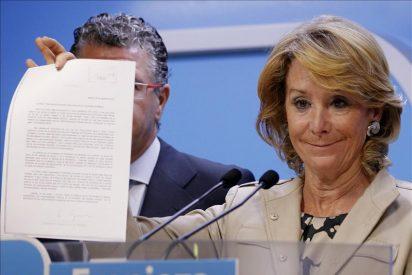 """Esperanza Aguirre: """"Si alguna queja tengo del Gobierno Rajoy es que no recorta lo suficiente"""""""