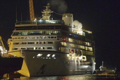 El crucero Azamara Quest llega a Malasia tras el incendio en los motores