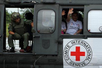 Los diez policías y militares fueron liberados por las FARC