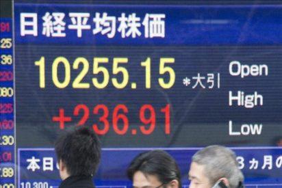 El Nikkei cae 27,66 puntos, el 0,27 %, hasta 10.082,21 puntos