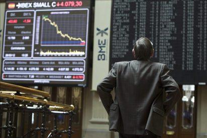 El IBEX 35 cae el 0,93 por ciento a mediodía atento a los Presupuestos de 2012