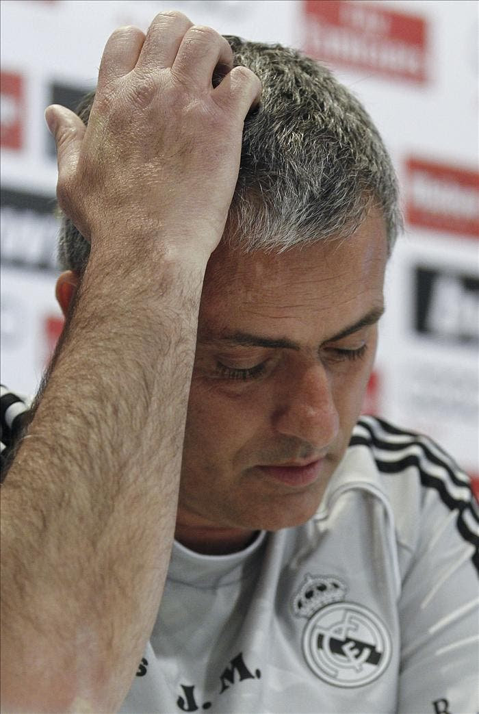 """Mourinho dice que """"me quedan otros dos años de contrato con el Real Madrid"""""""