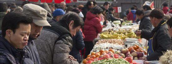 La inflación china repunta cuatro décimas en marzo, hasta el 3,6 por ciento