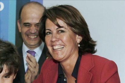 Procesados por atentar contra la autoridad los 4 acusados de lanzar tartas a Yolanda Barcina