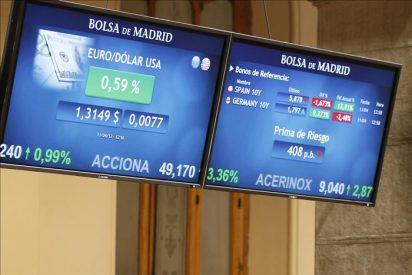 La prima de riesgo cae a 410 puntos tras las muestras de confianza en España