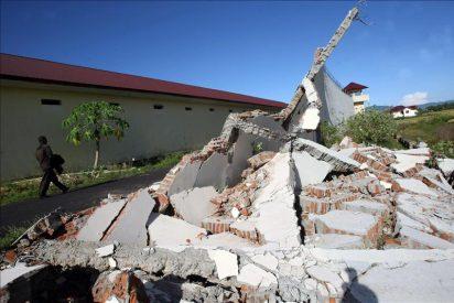 Los seísmos en Indonesia causaron un muerto, cuatro heridos y daños menores