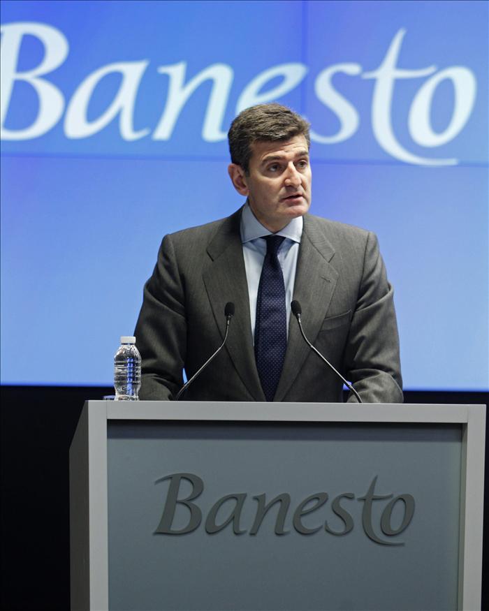 Banesto ganó el 88,1 por ciento menos hasta marzo tras unas dotaciones de 475 millones
