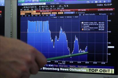 El interés del bono español supera el 6 por ciento y la prima sube a 430 puntos