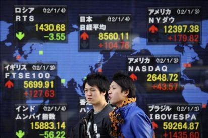 El Nikkei sube 5,51 puntos, el 0,06 por ciento, hasta los 9.476,15 puntos
