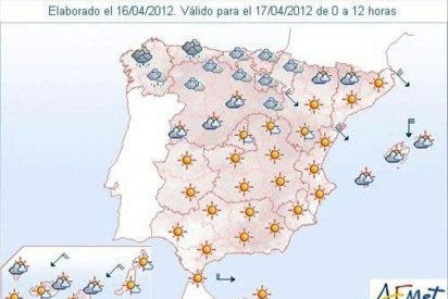 La Aemet prevé viento fuerte en Gerona, Canarias y Baleares