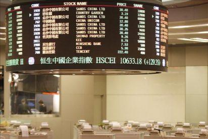 Índice Hang Seng baja el 0,58 por ciento a media sesión