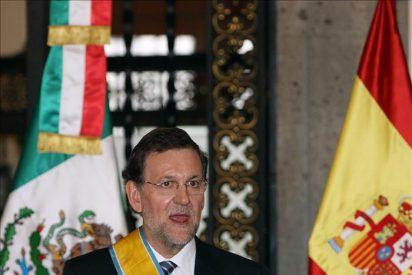 Rajoy llega a Bogotá para respaldar a las empresas españolas en Colombia