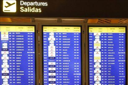 Retrasos en vuelos entre Barajas y Portugal por paro de controladores lusos