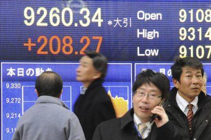 El Nikkei baja 40,94 puntos, un 0,43 por ciento, hasta los 9.520,89 puntos