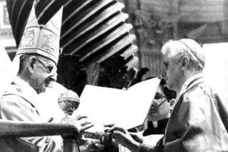 Ratzinger confesó en 1978 que el papa «debería ser un italiano»