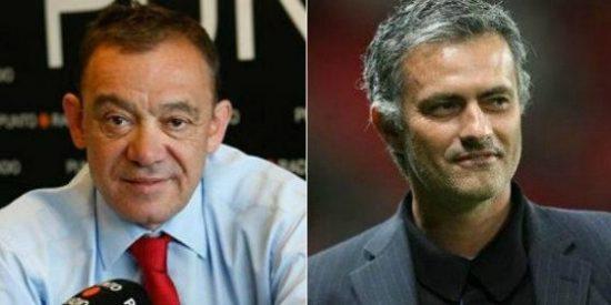 """José Antonio Abellán: """"Mourinho tiene mucho miedo, canguelo, temor, cagalera, cobardía, y por eso se esconde de los periodistas"""""""