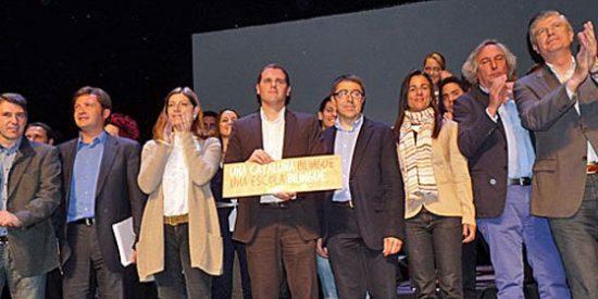 """Llaman """"genocidas"""" a PP y Ciudadanos por defender el bilingüismo en Cataluña"""