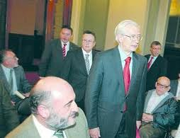 Conferencia de Óscar Alzaga en la Fundación Pablo VI