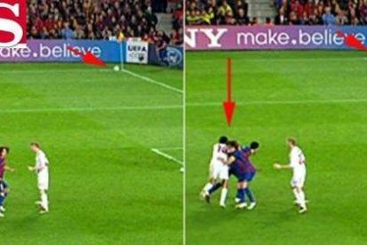 """'Marca' ve penalti de Nesta a Busquets y 'AS' lo niega: """"El balón no estaba en juego"""""""