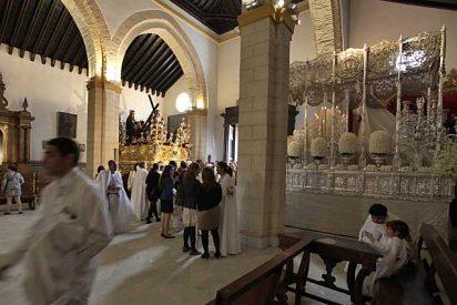 La lluvia desluce las primeras procesiones de la Semana Santa en Sevilla
