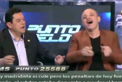 Máxima tensión en 'Punto Pelota': Hermel y Roncero se burlan de Pulido, 'el becario' explota contra Ramos Marcos y Pedrerol choca con Luque