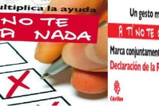 Cáritas invita a marcar las casillas de Fines sociales y de la Iglesia en el IRPF