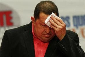 """Chávez: """"¡Si supieran la sopa de pescado que tomé en el almuerzo!"""""""