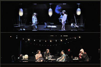'Cosas que hoy decíamos' en el Teatro de la Abadía: discusiones de pareja