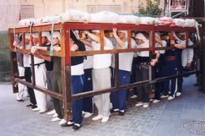 Aconsejan a los costaleros con lesiones previas que no participen en las procesiones
