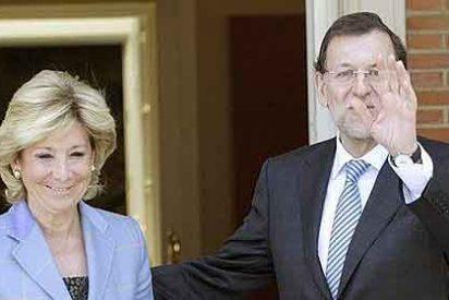 """Aguirre a Rajoy: """"Que el Estado asuma Sanidad, Educación y Justicia"""""""