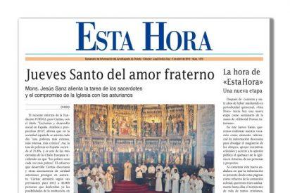 «Esta Hora», boletín del arzobispado de Oviedo, sale con 'La Nueva España'