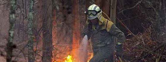 El fuego provocado en el Eume ha carbonizado ya 750 hectáreas
