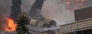 Un avión F-18 se estrella en una zona residencial de Virginia