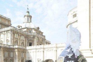 Regalan al Papa un huevo de pascua gigante