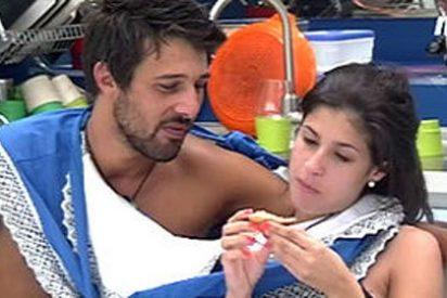 'GH12+1': continúa el lichamiento al novio de Sindia y ya hay tocamientos muy eróticos entre Hugo y María