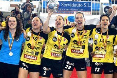 El equipo de balonmano femenino Itxako conquista la Copa de la Reina