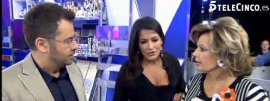 """Aída Nízar vuelve a montarla y Paz Padilla le para los pies en directo: """"¡Eres mala persona! Adiós"""""""