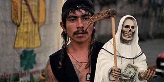 La Santa Muerte: la sangrienta y espantosa patrona de los delincuentes mexicanos