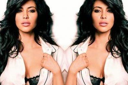 La maciza Kim Kardashian niega ser la modelo que cocina desnuda